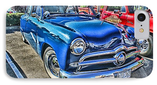 Blue Classic Hdr Phone Case by Randy Harris