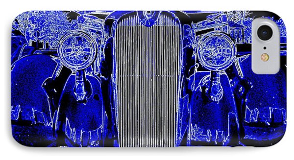 Blue Coupe IPhone Case by J R Seymour