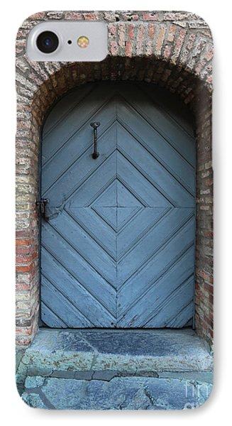 Blue Door Phone Case by Carol Groenen
