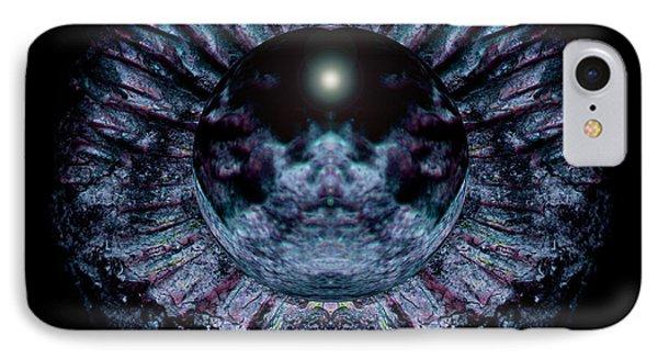 Blue Eye Sphere Phone Case by David Kleinsasser
