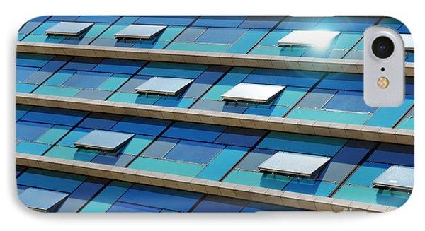 Blue Facade IPhone Case by Carlos Caetano