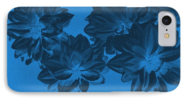 Blue Flower Art Phone Case by Aimee L Maher Photography and Art Visit ALMGallerydotcom