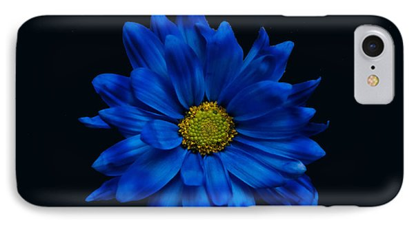 Blue Flower Phone Case by Ron Smith