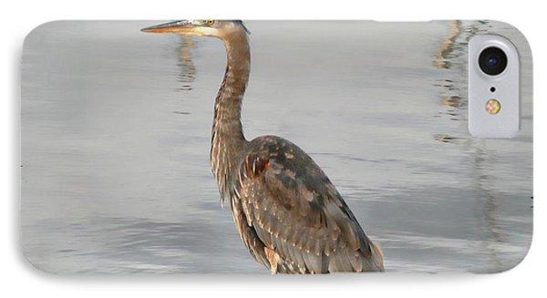 Blue Heron Wading IPhone Case