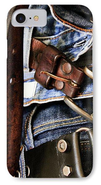 Blue Jeans Phone Case by Stelios Kleanthous