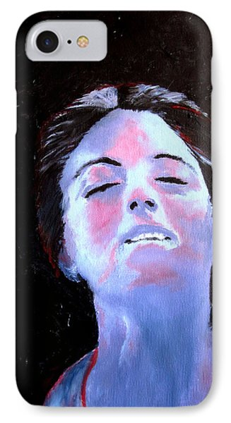 Blue Lady IPhone Case