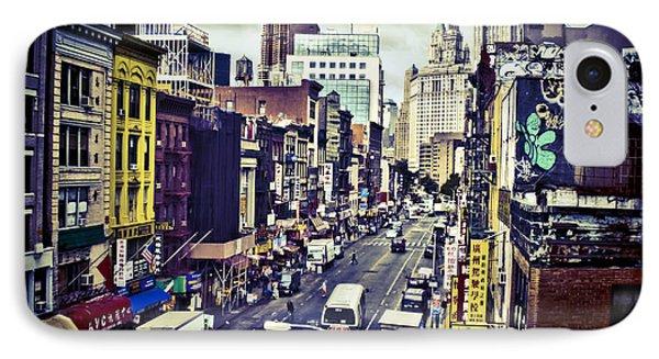 Blue New York City Phone Case by Brian Lambert
