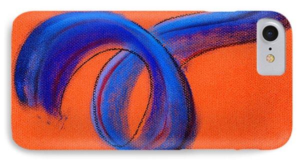 Blue Ribbon Phone Case by Hakon Soreide