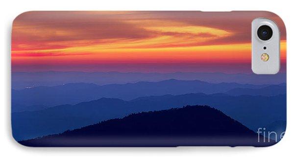 Blue Ridge Mountains North Carolina IPhone Case by Dustin K Ryan