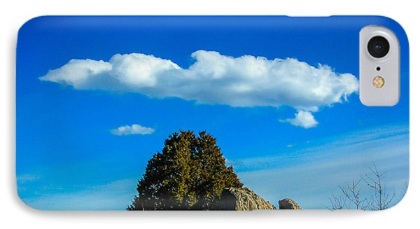 IPhone Case featuring the photograph Blue Skies by Shannon Harrington