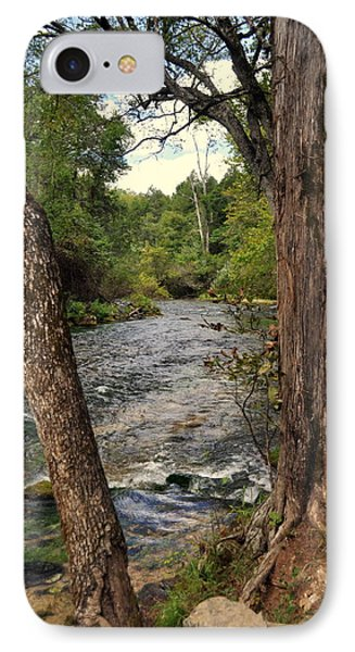 IPhone Case featuring the photograph Blue Spring Branch by Marty Koch