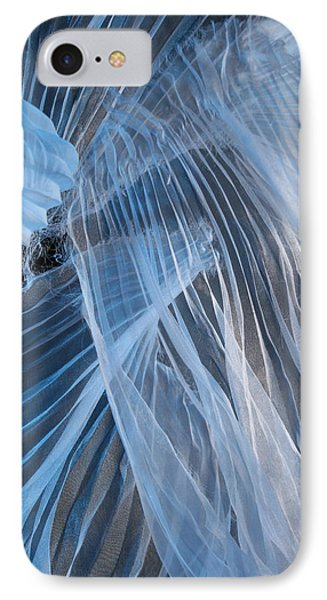 Blue Texture IPhone Case by Gillian Charters - Barnes