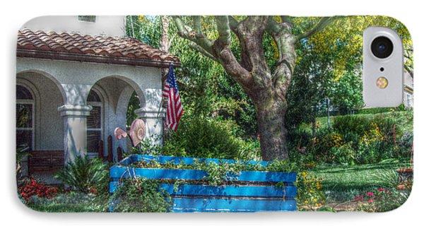 Blue Wagon Phone Case by Cindy Nunn