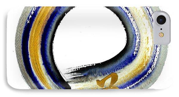 Blue Way Phone Case by Ellen Miffitt