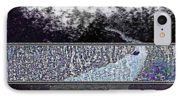 Blue Way Through IPhone Case