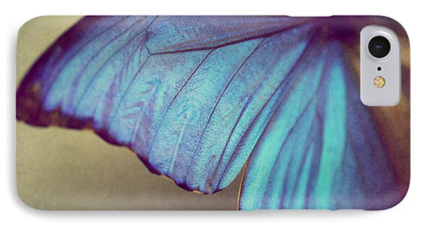 Blue Wing Phone Case by Amelia Matarazzo