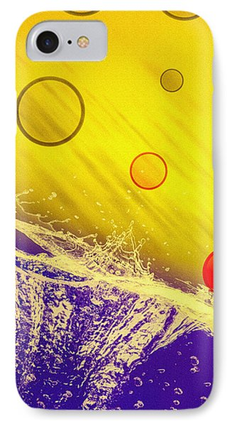 Blue Yellow Red Phone Case by Bob Orsillo