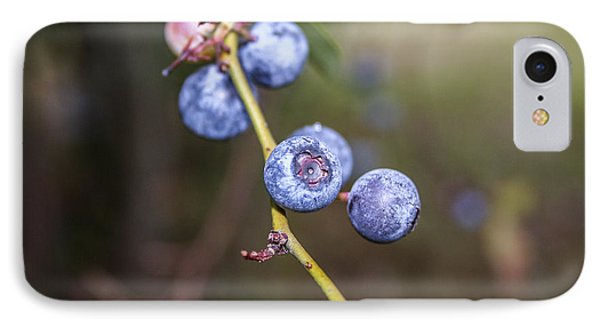 IPhone Case featuring the photograph Blueberry by Ester  Rogers