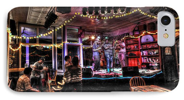 Bluegrass Band Playing IPhone Case by Dan Friend