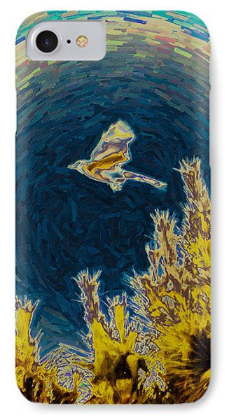 Bluejay Gone Wild IPhone Case by Trish Tritz