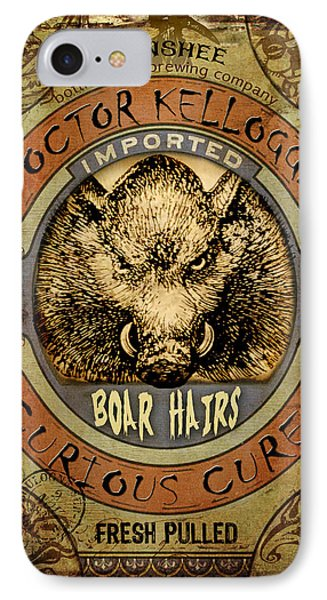 Boar Hairs  Phone Case by Nada Meeks