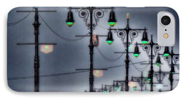 IPhone Case featuring the photograph Boardwalk Lights by Chris Lord
