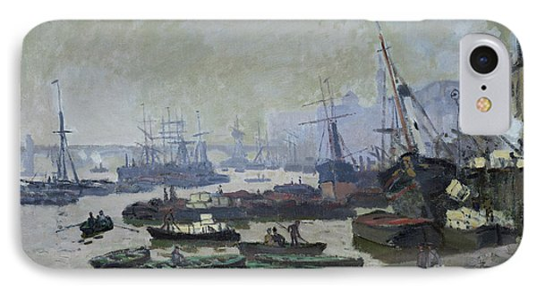 Boats In The Pool Of London IPhone Case