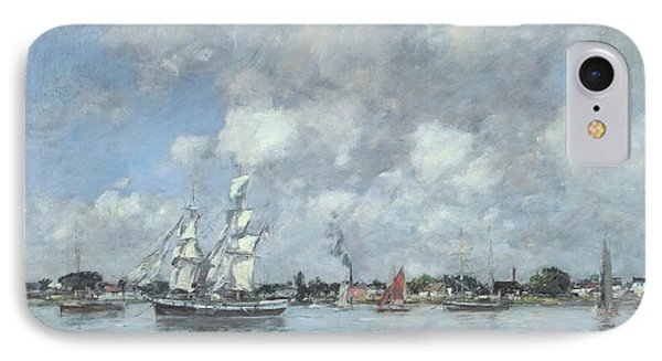 Boats On The Garonne IPhone Case