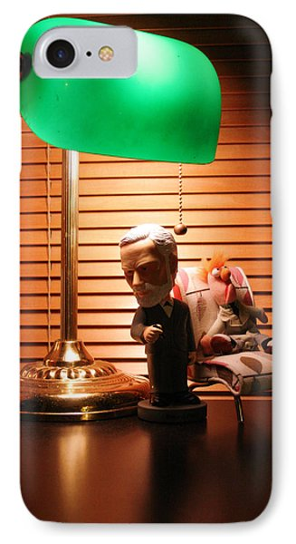 Bobble Freud Psychobabbles Beeker Phone Case by Alan Schwartz