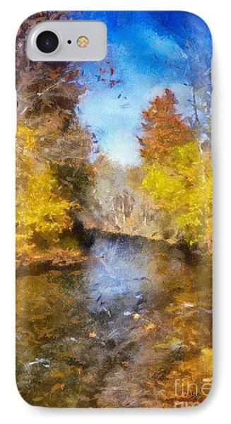 Bob's Creek From The Bridge IPhone Case