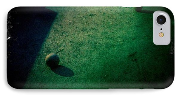 Bocce Ball Court IPhone Case by Suzanne Lorenz