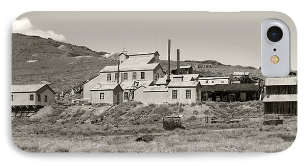 Bodie Ghost Town California Gold Mine Phone Case by Philip Tolok