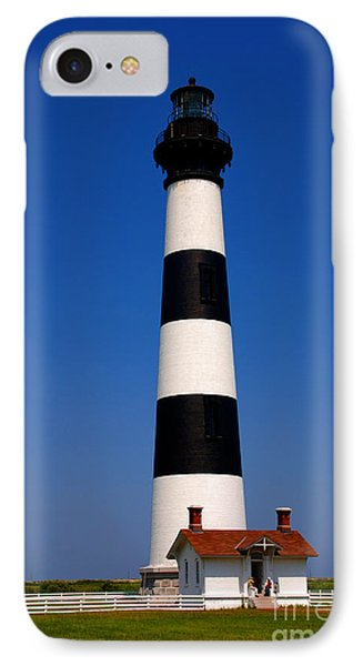 Bodie Island Lighthouse Outer Banks Nc Phone Case by Susanne Van Hulst