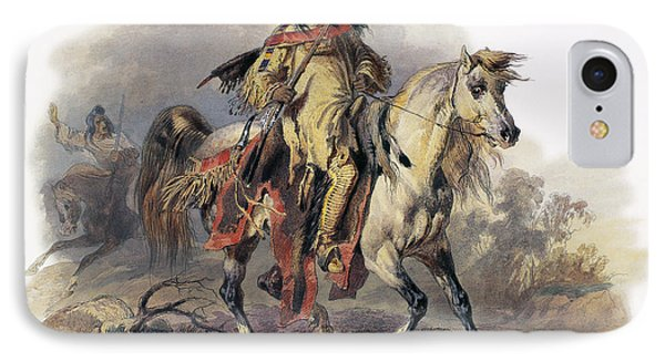 Bodmer: Blackfoot Horseman Phone Case by Granger