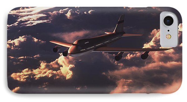 Boeing 747 Phone Case by Mike Miller