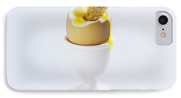 Boiled Egg IPhone Case by David Munns