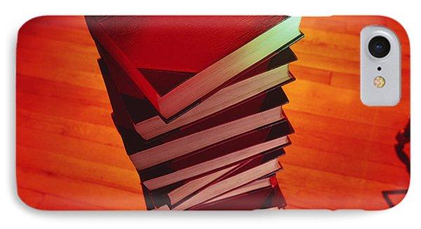 Books Phone Case by Tek Image