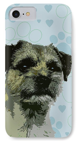 Border Terrier Phone Case by One Rude Dawg Orcutt