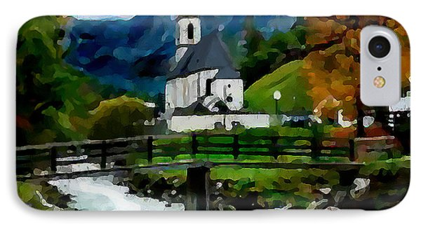 Bosnian Country Church Phone Case by Jann Paxton