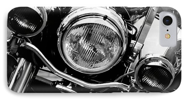 IPhone Case featuring the photograph Boston Police Harley by Mike Martin