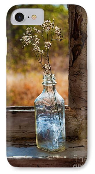 Bottle On Window Sill IPhone Case