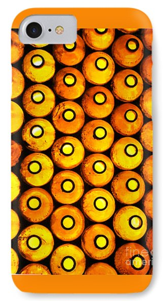IPhone 7 Case featuring the photograph Bottle Pattern by Nareeta Martin