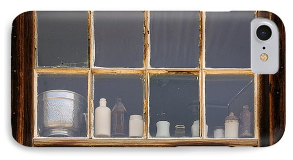 Bottles In The Window Phone Case by Vivian Christopher