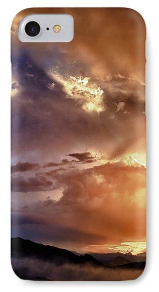 Boulder Colorado Smoky Sunset  IPhone Case by James BO  Insogna