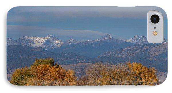 Boulder County Colorado Continental Divide Autumn View IPhone Case