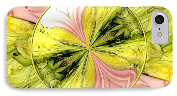Bouquet Of Roses Kaleidoscope 9 Phone Case by Rose Santuci-Sofranko
