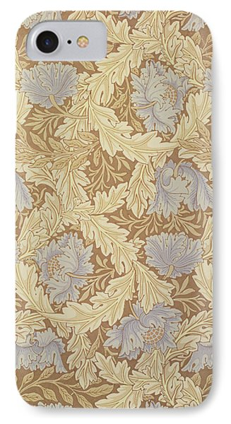 Bower Wallpaper Design Phone Case by William Morris