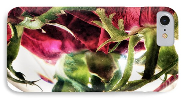 Bowl Of Roses Phone Case by Stelios Kleanthous