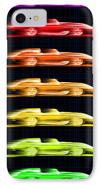 1959 Stingray Box Of Crayons IPhone Case