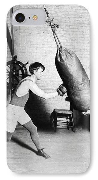 Boxing: Bat Nelson, 1920 Phone Case by Granger